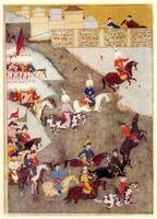 Ottoman miniature about the Szigetvár campaign sho