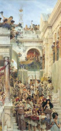 Spring by Lawrence Alma-Tadema (1894)