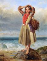 Thomas Kent Pelham - The Mussel Gatherer