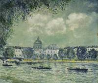 The Seine with the Institute of France, 1877