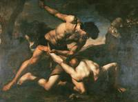 Orazio Riminaldi, Cain and Abel, 17th century