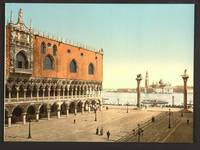 The Doges' Palace and the Piazzetta, Venice, Italy