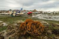Barfleur Low Tide Boats