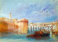 Joseph Mallord William Turner - Angers - The Walls