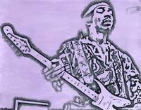 Jimi Hendrix (Purple Haze)