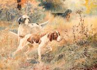 EDMUND H. OSTHAUS (1858-1928) The Hunters (circa 1