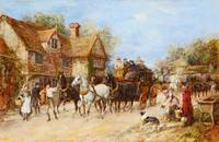 Heywood Hardy - Changing the Horses