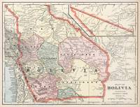 Vintage Map of Bolivia (1901)