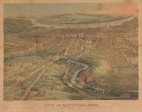 Vintage Pictorial Map of Hartford Connecticut (186