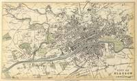 Vintage Map of Glasgow Scotland (1872)