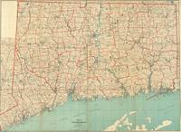 Vintage Map of Connecticut (1893)