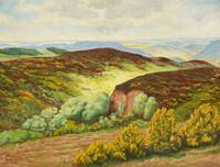 Fritz von Wille, Flowering Gorse in the Eifel
