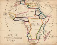 Vintage Map of Africa (1831)