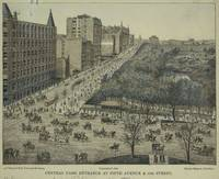 Vintage Pictorial Map of Central Park, 5th Avenue