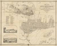 Vintage Map of Montreal (1859)