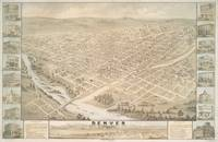 Vintage Map of Denver Colorado (1874)