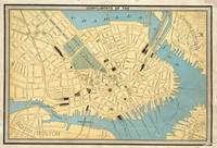 Vintage Map of Boston MA (1890)
