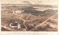 Vintage Pictorial Map of Central Park (1864)