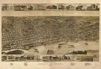 Vintage Pictorial Map of Memphis TN (1887)