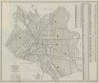 Vintage Map of Paterson NJ (1920)