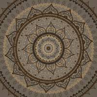 Mandala. Hand drawn Ethnic vintage pattern.