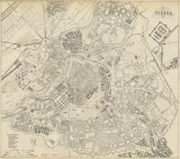 Vintage Map of Vienna Austria (1877)