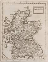 Vintage Map of Scotland (1681)
