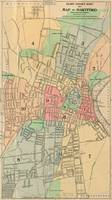Vintage Map of Hartford Connecticut (1903)