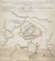 Vintage Battle of Bunker Hill Map (1775)