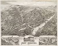 Vintage Map of Port Chester NY (1882)