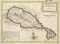 Vintage Map of Saint Kitts (1732)