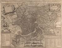 Vintage Map of Rome Italy (1730)