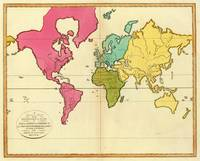 Vintage Map of The World (1792)