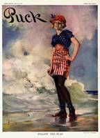 Follow the Flag Vintage Magazine Cover