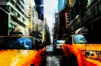 Gritty New York City Traffic and Taxis