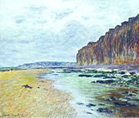 CLAUDE MONET - Low Tide at Varengeville