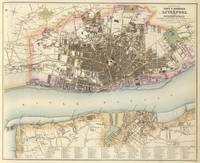 Vintage Map of Liverpool England (1872)