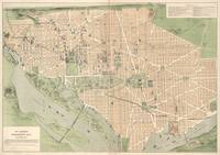 Vintage Map of Washington DC (1892)