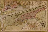 Vintage Map of New York City (1821)