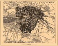 Vintage Map of Berlin Germany (1907)