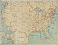 Vintage United States Lighthouse Map (1898)