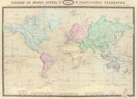 Vintage Map of The World (1862)