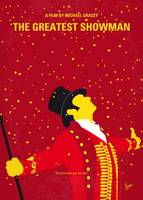 No965 My The Greatest Showman minimal movie poster