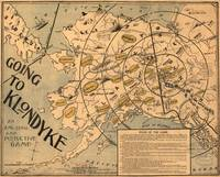 Vintage Alaska Board Game Map (1897)