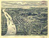 Vintage Map of St. Paul MN (1893)