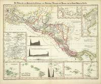 Vintage Map of Central America (1840)