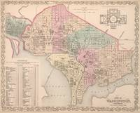 Vintage Map of Washington DC (1857)