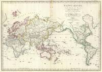 Vintage Map of The World (1816)