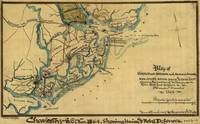 Vintage Charleston Harbor Battle Map (1865)