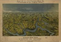 Vintage Bird's Eye Map of Tennessee & Kentucky (18